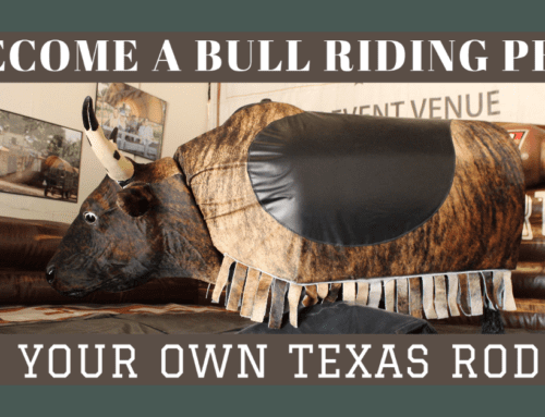 Your Very Own San Antonio Rodeo – Rent a Mechanical Bull For Your Corporate Event