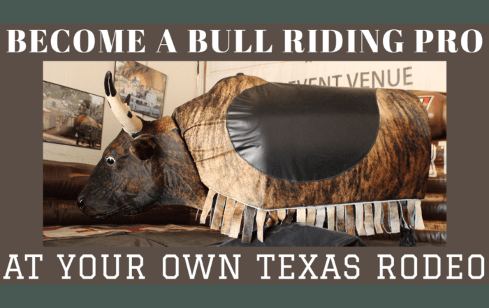 Enchanted Springs Ranch Mechanical Bull Riding
